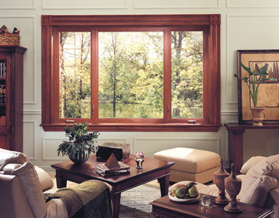 Clad Wood replacement windows fuse traditional style and modern performance