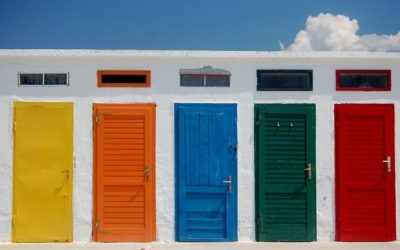 What Door Colors Say About You