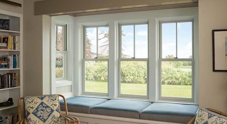 Andersen bay window installation in seattle