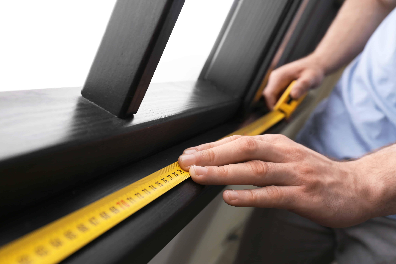 measuring window sill