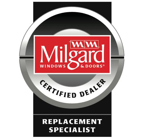 Milgard Certified Dealer Replacement Specialist Badge